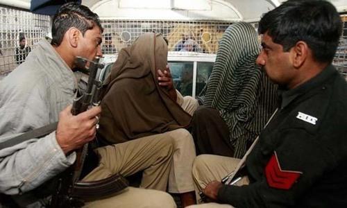 AQIS in Karachi