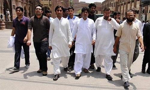Young doctors' strike enters fifth day in Rawalpindi