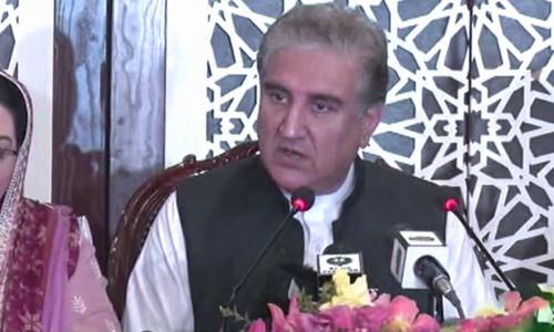 فضل الرحمٰن سے مذاکرات کیلئے کمیٹی تشکیل دے رہے ہیں، شاہ محمود قریشی