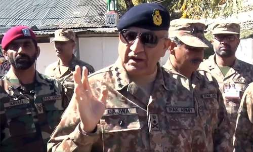 We will never leave people of occupied Kashmir alone, says Army chief during LoC visit