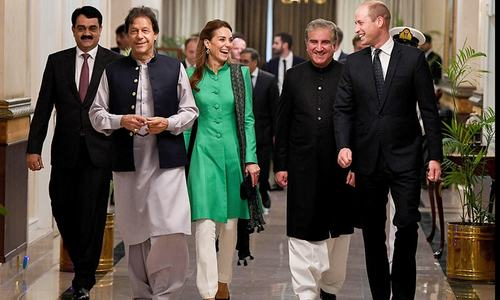 In pictures: Britain's Duke and Duchess given a truly Pakistani welcome on maiden visit