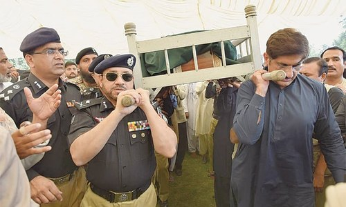 Shahid Hayat's funeral prayer held