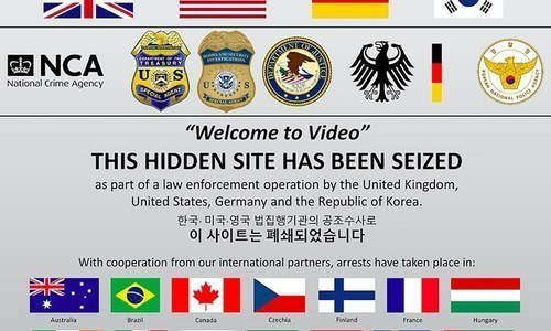 US, UK and South Korea bust 'largest darknet child pornography website'