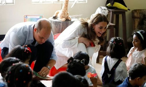 Prince William, Kate in Lahore for day-long visit