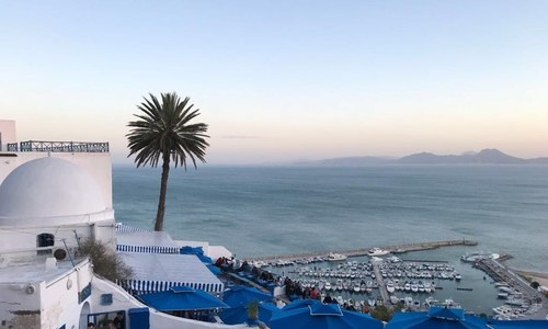 Sidi Bou Said — the blue and white Tunisian town named after a Sufi saint