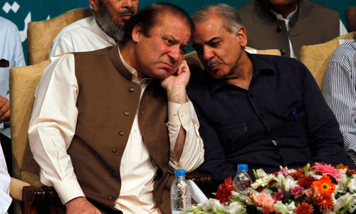 Speculation swirls as Shahbaz in no hurry to meet Nawaz