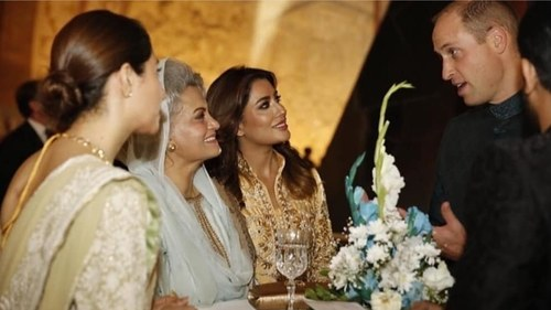It was a real pleasure to meet with the royal visitors, says Mehwish Hayat