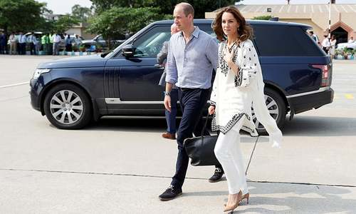 William, Kate back in Islamabad after mid-air storm drama
