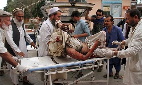 افغانستان: نماز جمعہ کے دوران مسجد میں دھماکا، 28افراد جاں بحق