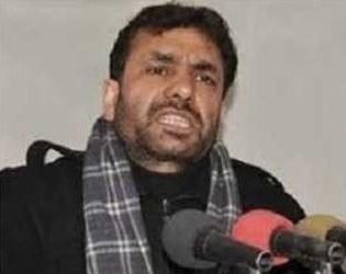 جاوید احمد میر کو جعلی مقدمے میں گرفتار کیا گیا—فوٹو:بشکریہ کشمیر میڈیا سروس
