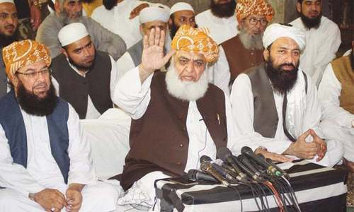 Editorial: Govt's sarcastic remarks against Fazlur Rehman gave him more reason to advance on Islamabad