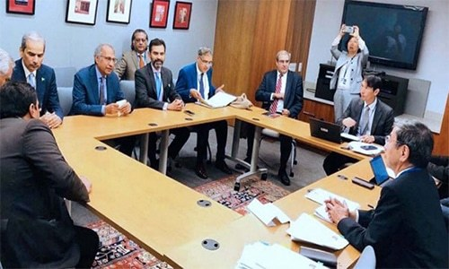 Pakistani delegation briefs IMF, WB and ADB officials on economic measures in meetings