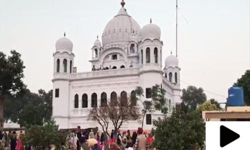پاکستان نے ریکارڈ مدت میں کرتارپور راہداری کا کام مکمل کرلیا