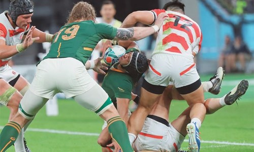 South Africa end Japanese dream at Rugby World Cup