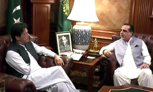 PM Imran in Karachi for day-long visit, meets governor Sindh