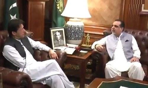 وزیراعظم کا دورہ کراچی، گورنر سندھ اور پارٹی رہنماؤں سے ملاقات