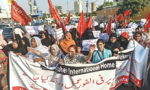 Sindh govt asked to notify rules, procedures to implement home-based workers' law