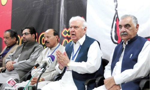 QWP extends support to Azadi March, demands fresh polls