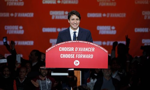 Canada's Trudeau wins second term but loses majority