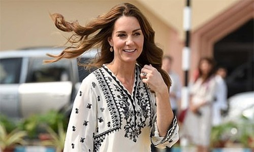 Pakistanis' adoration of Kate's pretty outfits doesn't change the fact that back home she lacks relevance