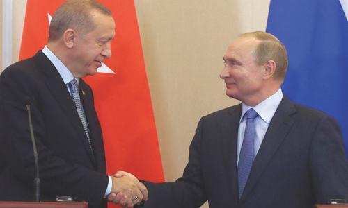 ترکی، روس کے مابین شمالی شام سے کرد فورسز کی بے دخلی کا معاہدہ