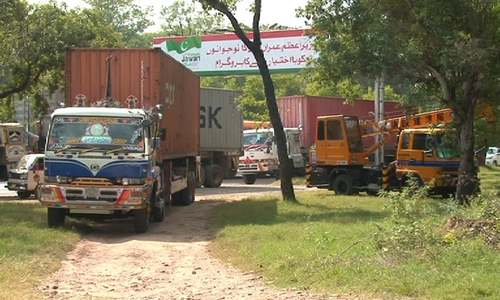 Islamabad gears up to deal with upcoming 'Azadi' March