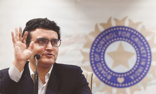 New chief Ganguly vows to clean up BCCI