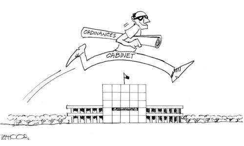 Cartoon: 24 October, 2019