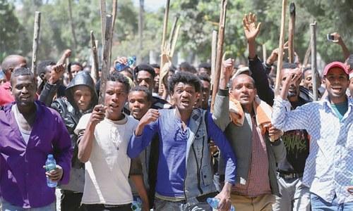 Violence erupts in Ethiopia, tests Nobel-winning leader