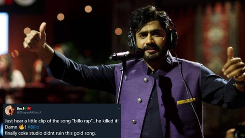 People can't stop grooving to Abrar ul Haq's Coke Studio rendition of Billo