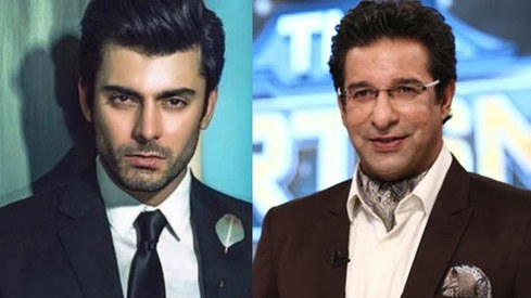 Are Fawad Khan and Wasim Akram going to appear in a movie together?