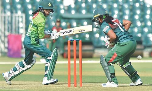 Pakistan draw first blood in women's T20 series against BD