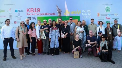 98 artists display their work at seven venues across Karachi for second Biennale