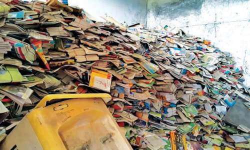 Thousands of textbooks found dumped in govt school classroom in Narowal