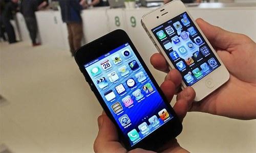 آئی فون 5 صارفین اپنی ڈیوائسز فوری اپ ڈیٹ کرلیں