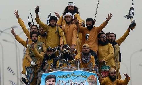 Rawalpindi police prepare list of Azadi marchers