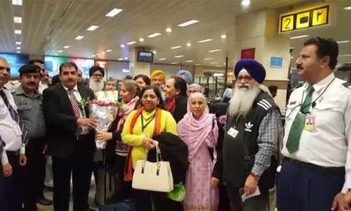 178-member Sikh delegation arrives from UK