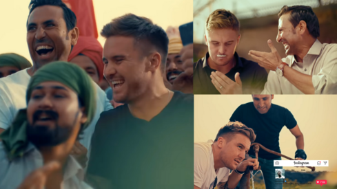 Yunus Khan walks Jason Roy down Pakistan's food, culture and music lane in this new TVC