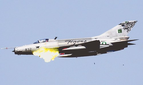 All jets in PAF inventory take part in firepower display