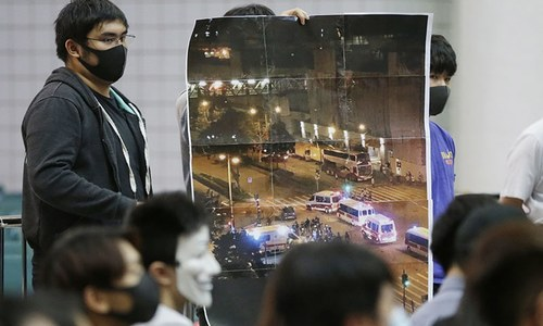 Pro-Beijing politician wounded in Hong Kong knife attack