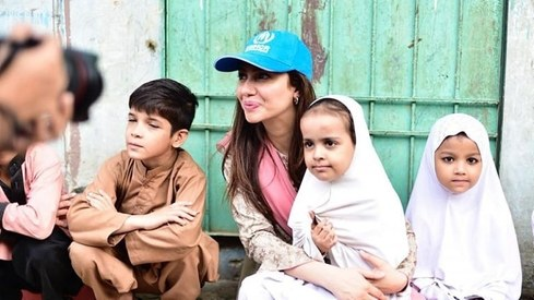 Mahira Khan appointed UNHCR Goodwill Ambassador for Pakistan