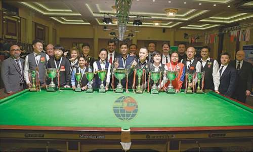Brilliant Asif tames Roda to regain IBSF World Snooker title