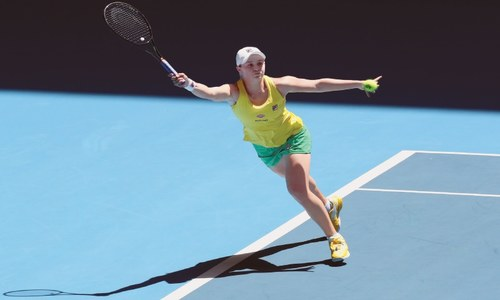 Flawless Barty crushes Garcia to level Fed Cup final