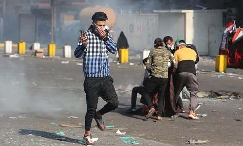 Iraqis keep up sit-ins amid fears of 'bloodbath'