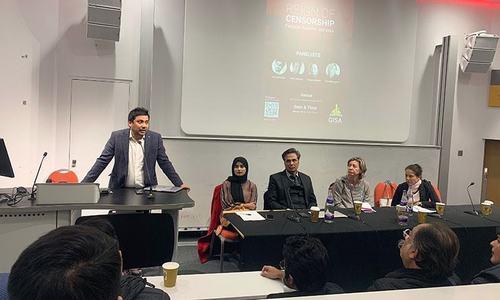 'پاکستان میں آزادی صحافت سیاہ دور سے گزر رہی ہے'