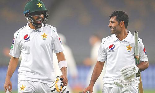Asad, Babar score unbeaten centuries against Australia 'A'