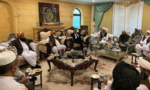 JUI-F meeting fails to reach consensus on expanding protest