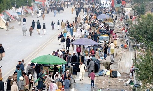 No let-up in people's sufferings due to Azadi March