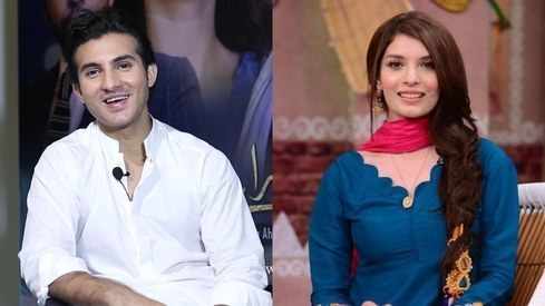 Shahroz Sabzwari and Saeeda Imtiaz are pairing up for Qulfi