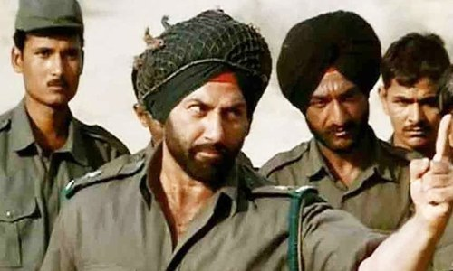 سنی دیول کے بھارت میں پاکستان کے حوالے سے فلمی ڈائیلاگ